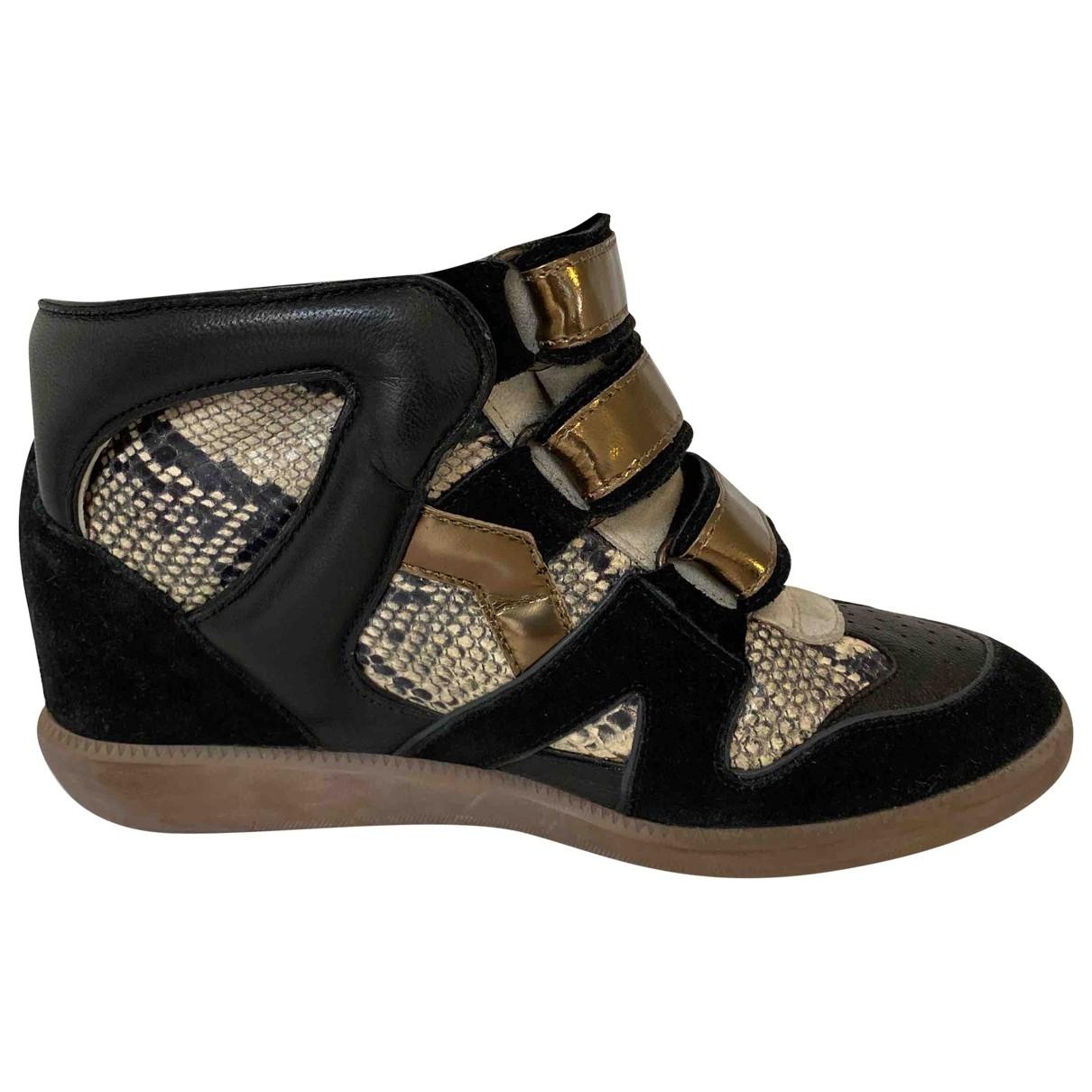 Isabel Marant Beckett Sneakers in  Bunt Leder