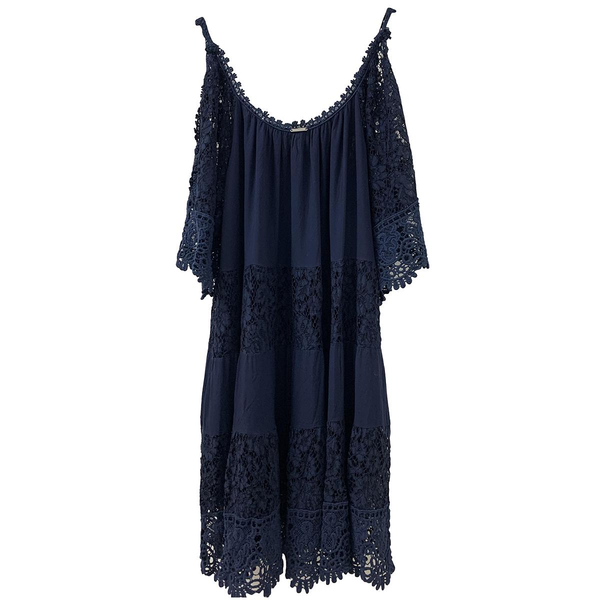 Guess - Robe   pour femme - bleu