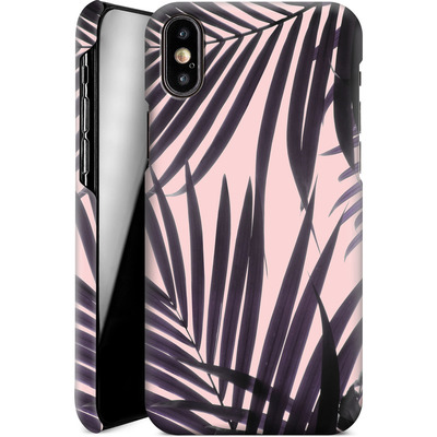 Apple iPhone X Smartphone Huelle - Delicate Jungle Theme von Emanuela Carratoni