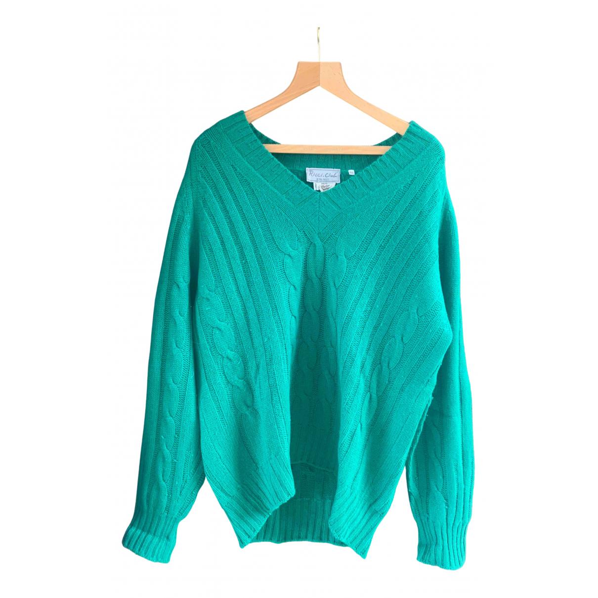 Nina Ricci \N Pullover.Westen.Sweatshirts  in  Gruen Kaschmir
