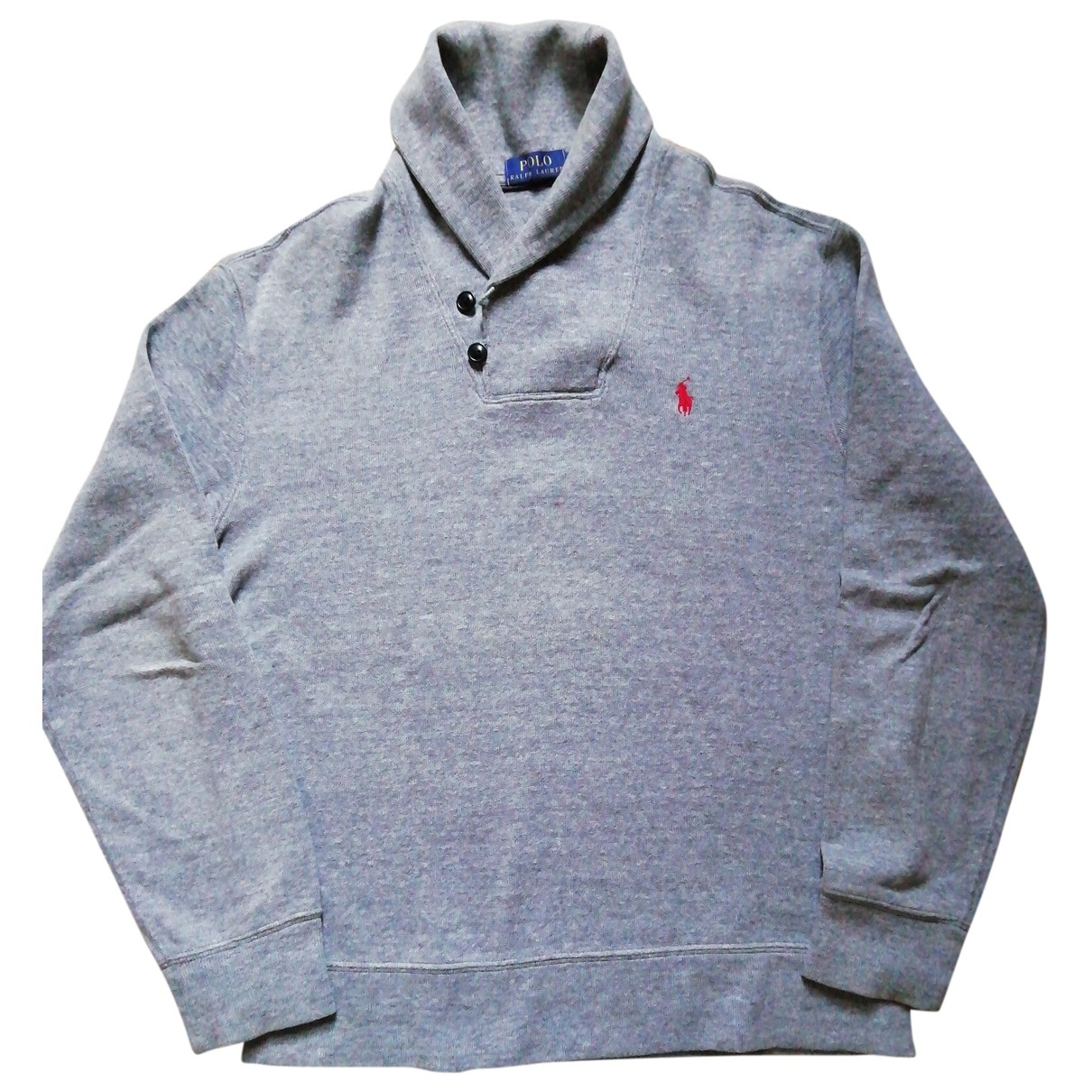 Polo Ralph Lauren \N Grey Cotton Knitwear & Sweatshirts for Men M International