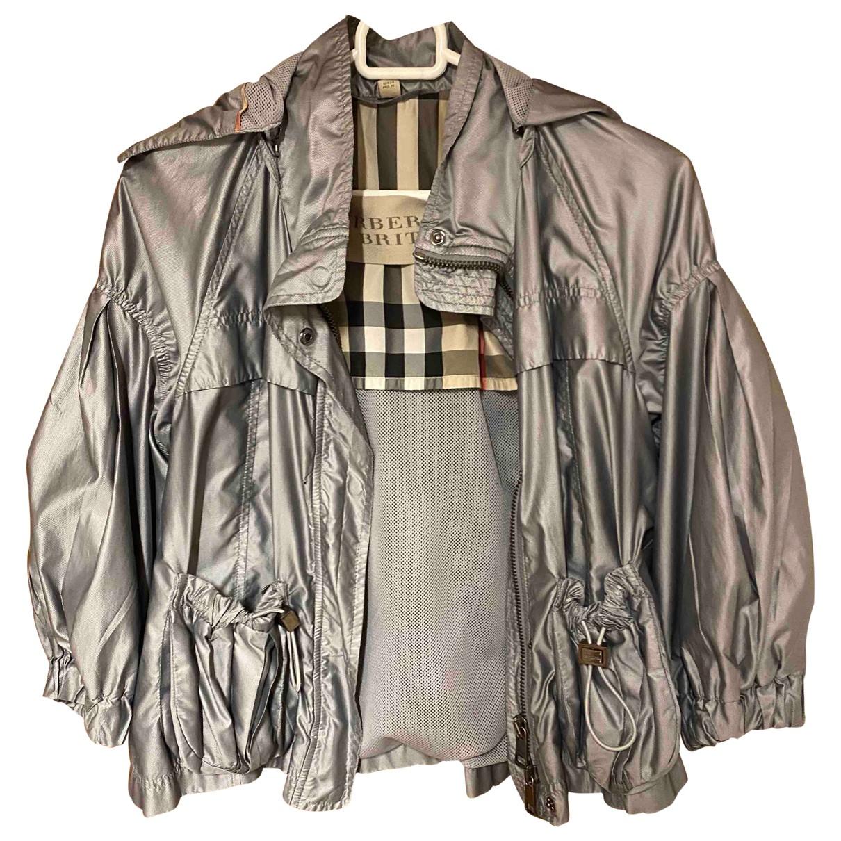 Burberry \N Metallic jacket for Women S International