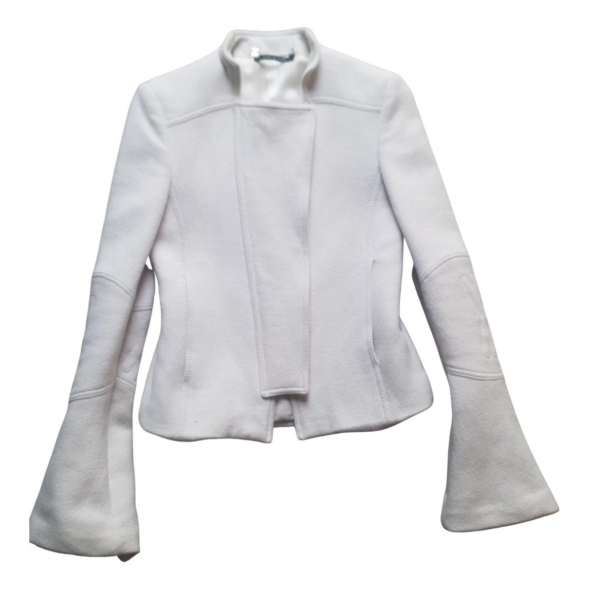 Gucci - Veste   pour femme en laine - blanc