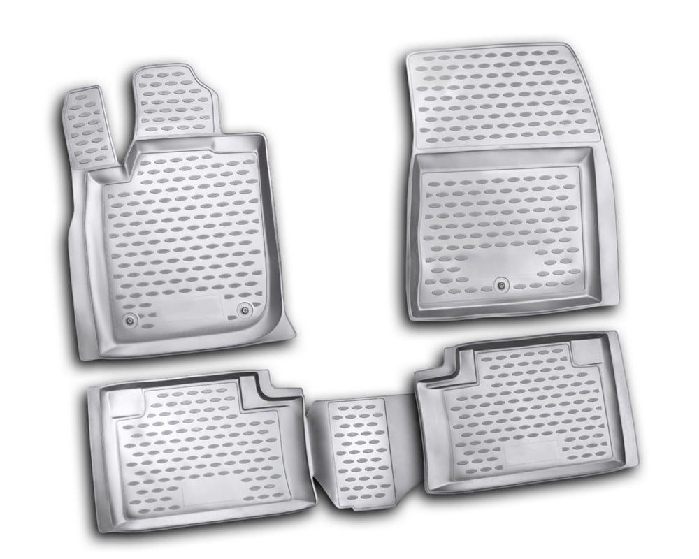 Westin Black Front & 2nd Row Profile Floor Liners Jeep Grand Cherokee 2011-2012