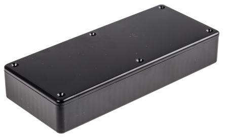 Hammond 1591, Black Polystyrene Enclosure, IP54, 165 x 71 x 25mm