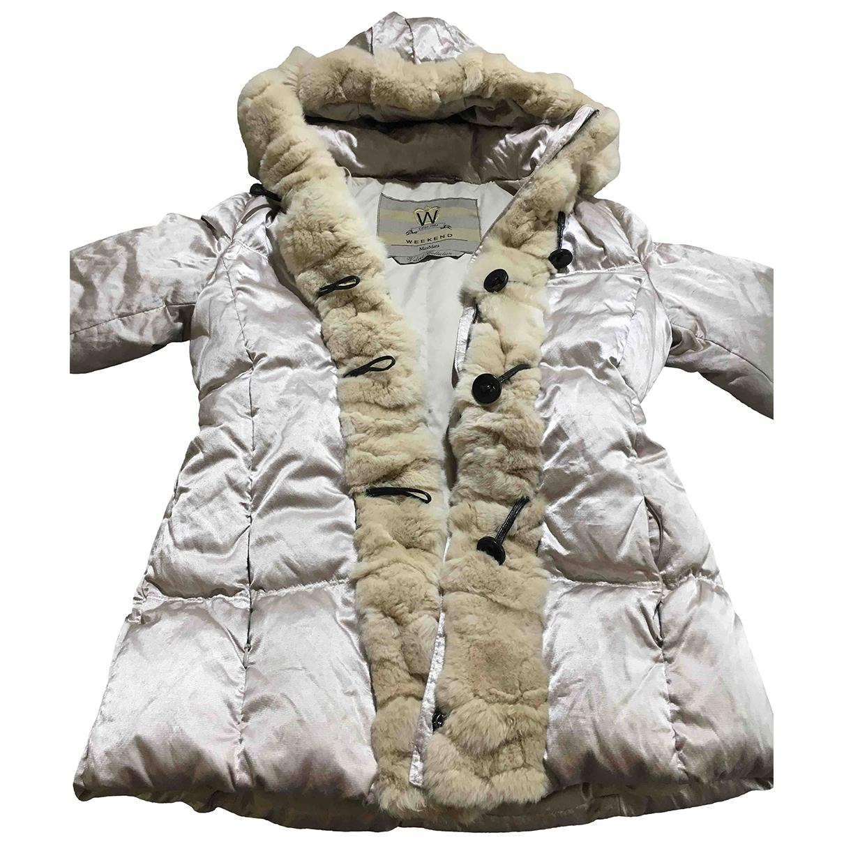Max Mara Weekend - Manteau   pour femme en cachemire - beige