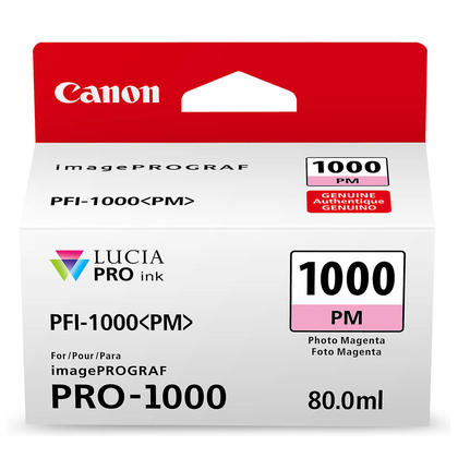 Canon PFI-1000PM cartouche d'encre originale magenta photo (0551C002)