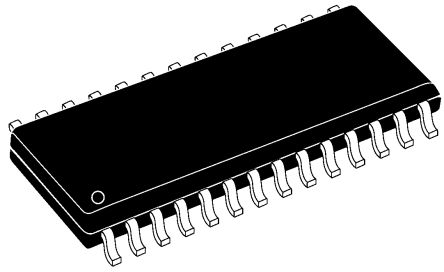 Microchip PIC18F25K20-I/SO, 8bit PIC Microcontroller, PIC18F, 64MHz, 32 kB, 256 B Flash, 28-Pin SOIC (5)