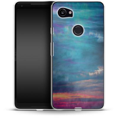 Google Pixel 2 XL Silikon Handyhuelle - Ocean Sky von Amy Sia
