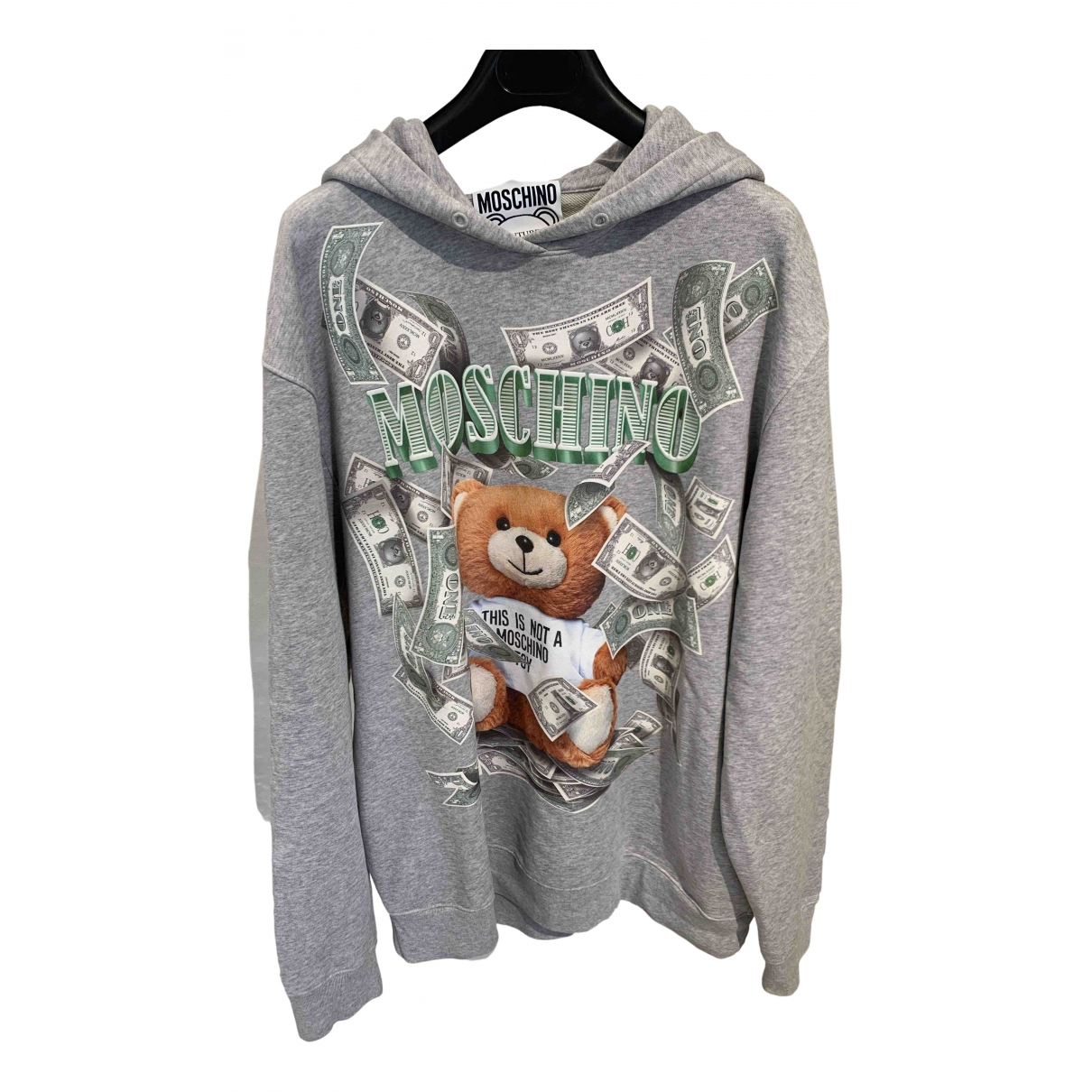 Moschino \N Grey Cotton Knitwear for Women 42 IT