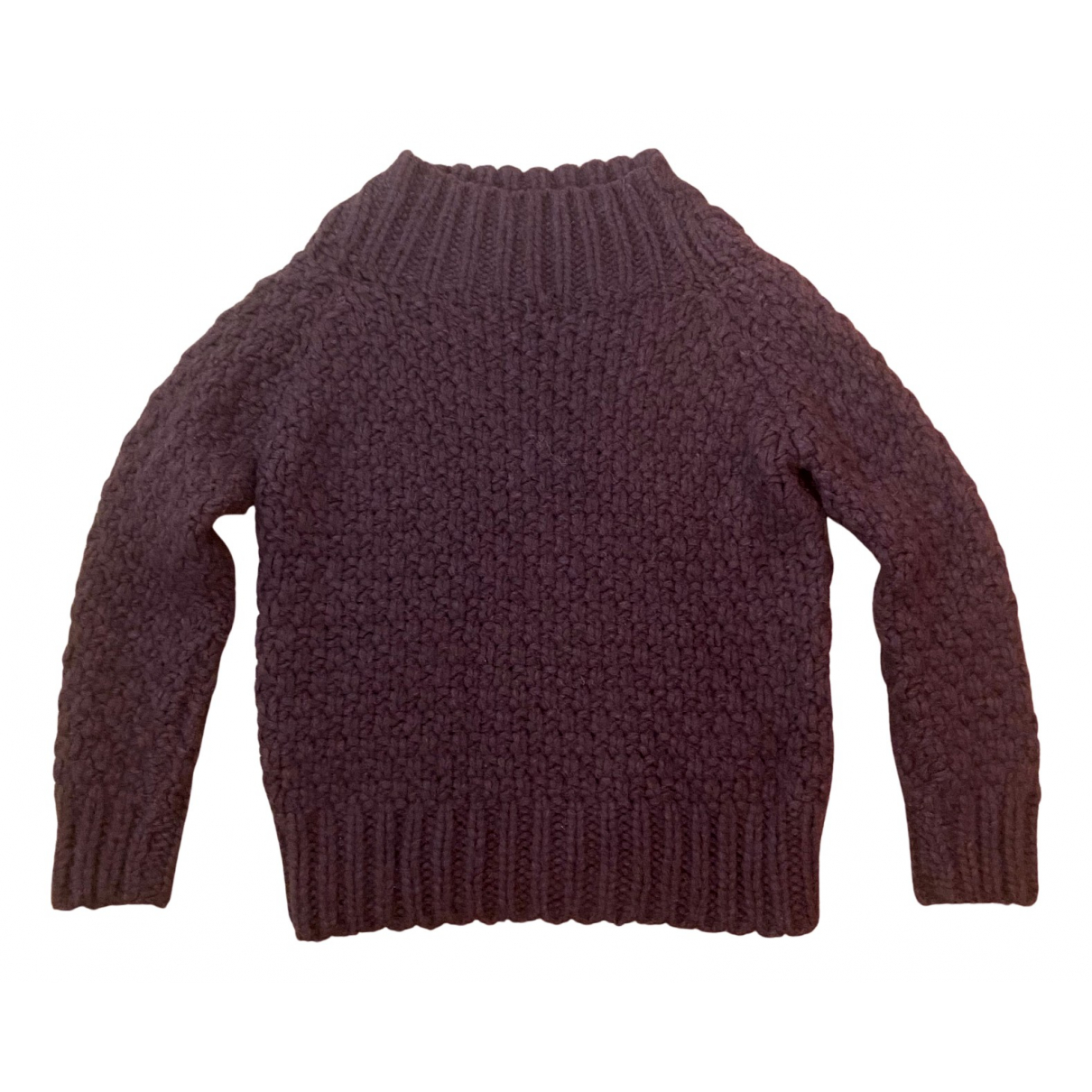 The Row \N Pullover in  Bordeauxrot Seide