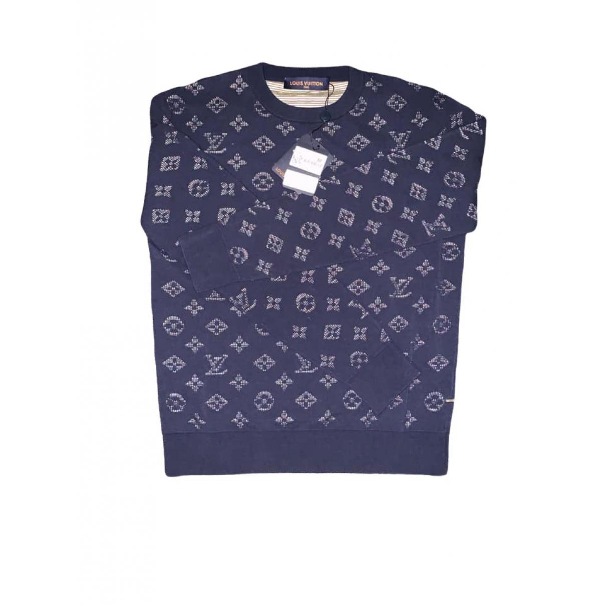 Louis Vuitton \N Navy Knitwear & Sweatshirts for Men XS International