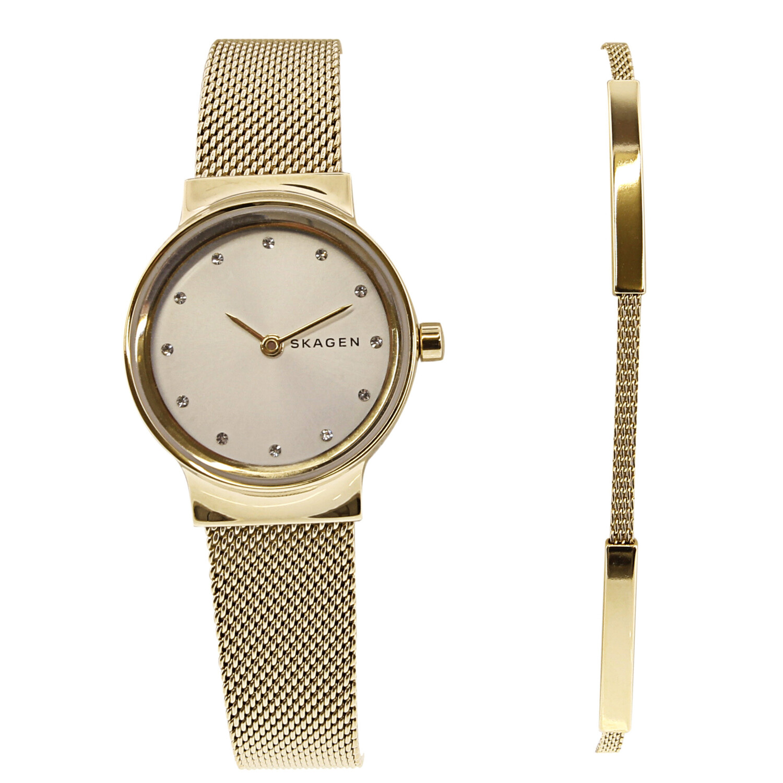 Skagen Women's Freja SKW1108 Gold Stainless-Steel Quartz Dress Watch