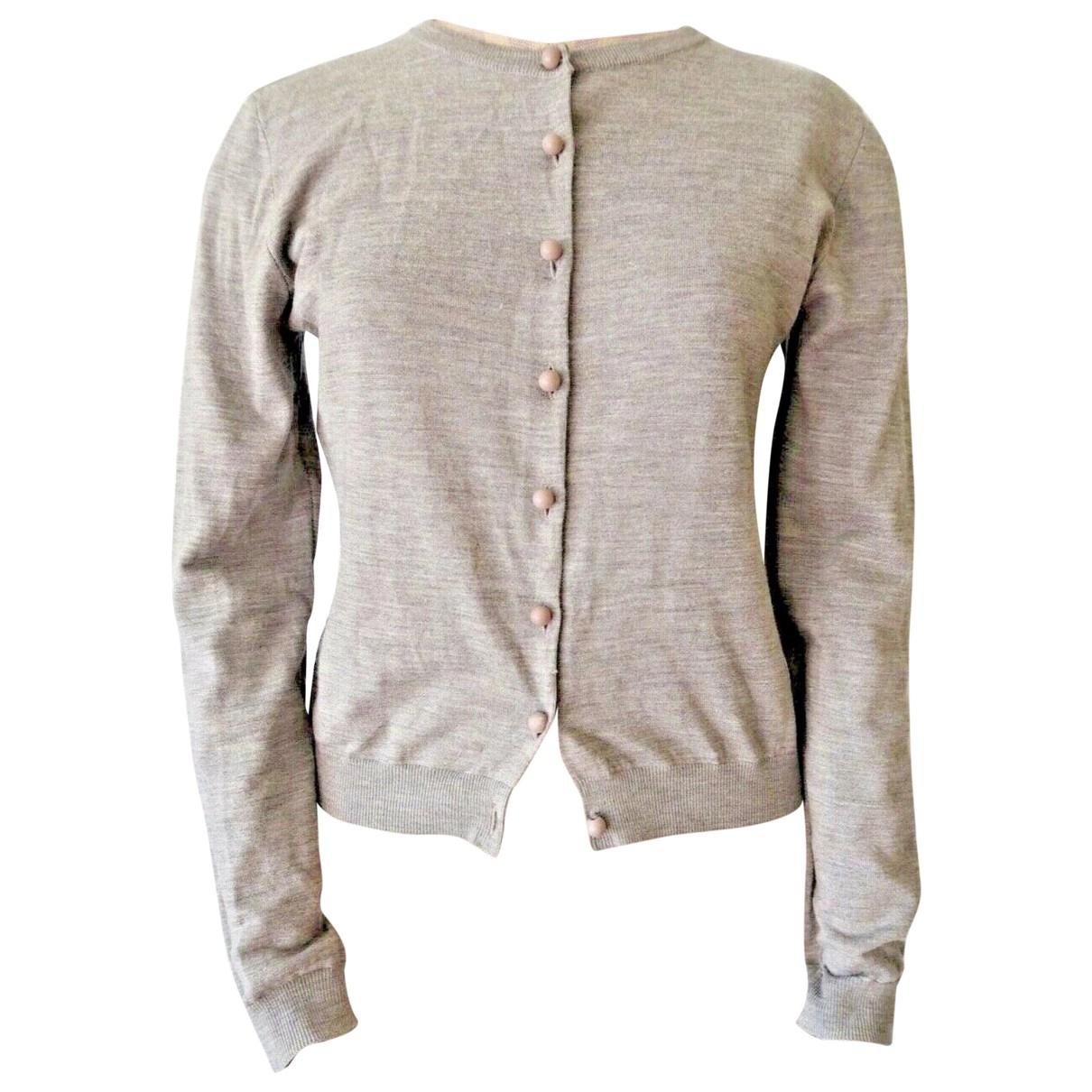 Moschino \N Grey Wool Knitwear for Women 42 IT