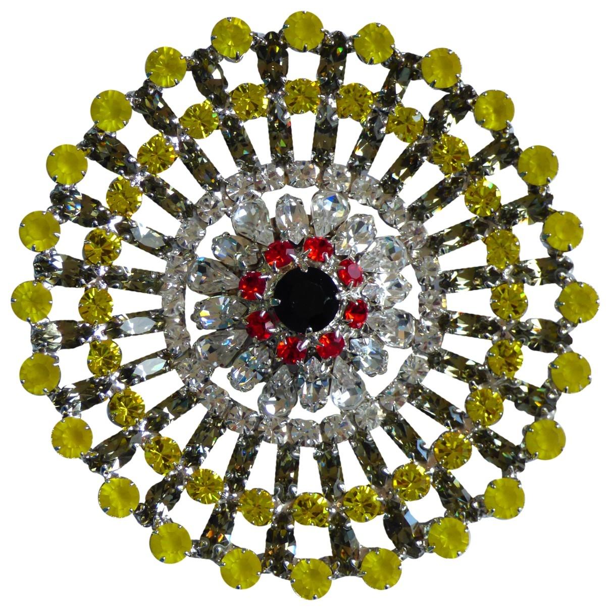 Givenchy - Broche   pour femme en metal - multicolore