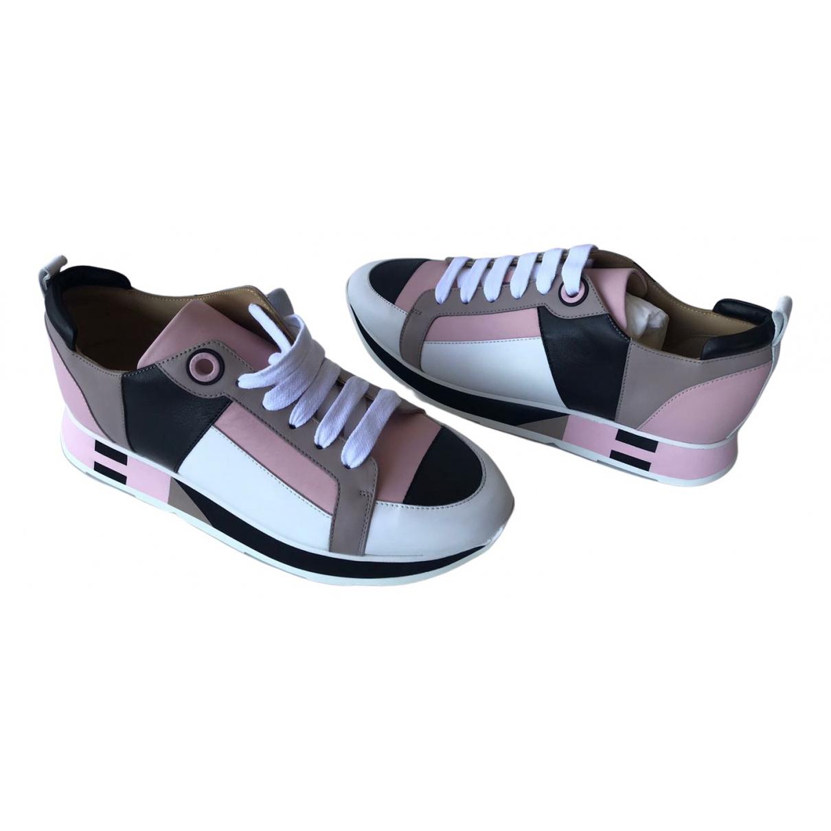 Hermes Rebus Sneakers in  Bunt Leder