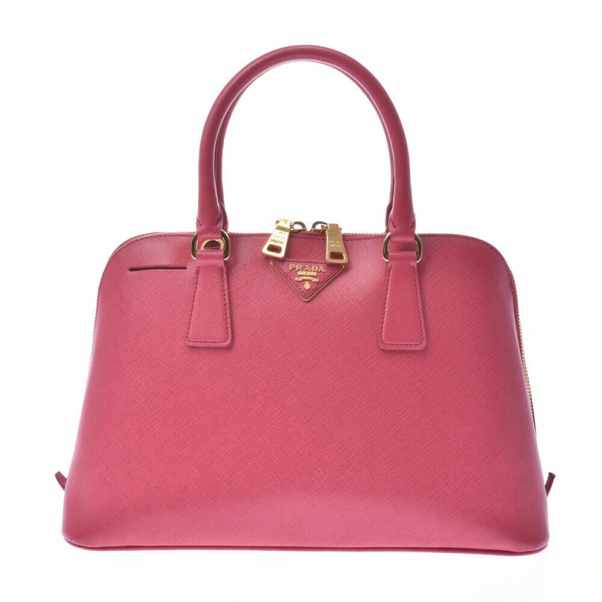 Prada Promenade Pink Leather handbag for Women \N