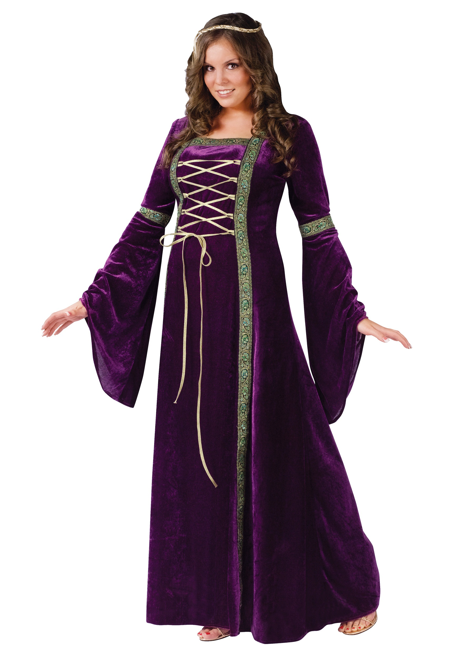 Women's Plus Size Renaissance Lady Costume | Decade Costumes