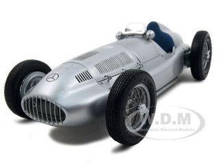 1939 Mercedes W 165 Silver 1/18 Diecast Car Model by CMC