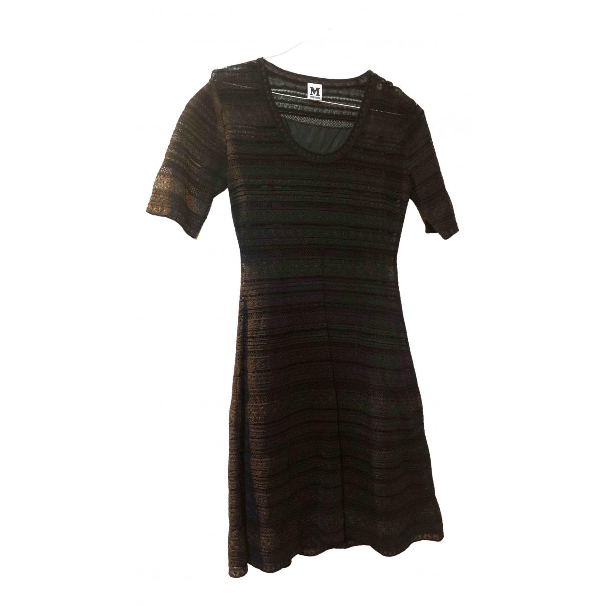 M Missoni \N Black Cotton dress for Women 44 IT