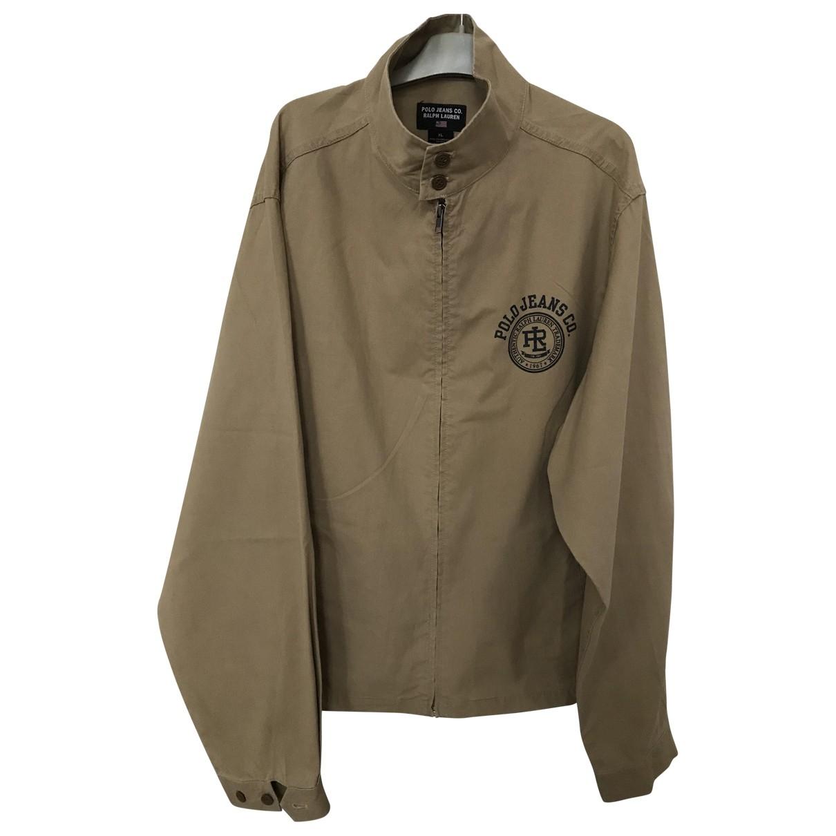 Polo Ralph Lauren \N Jacke in  Beige Baumwolle