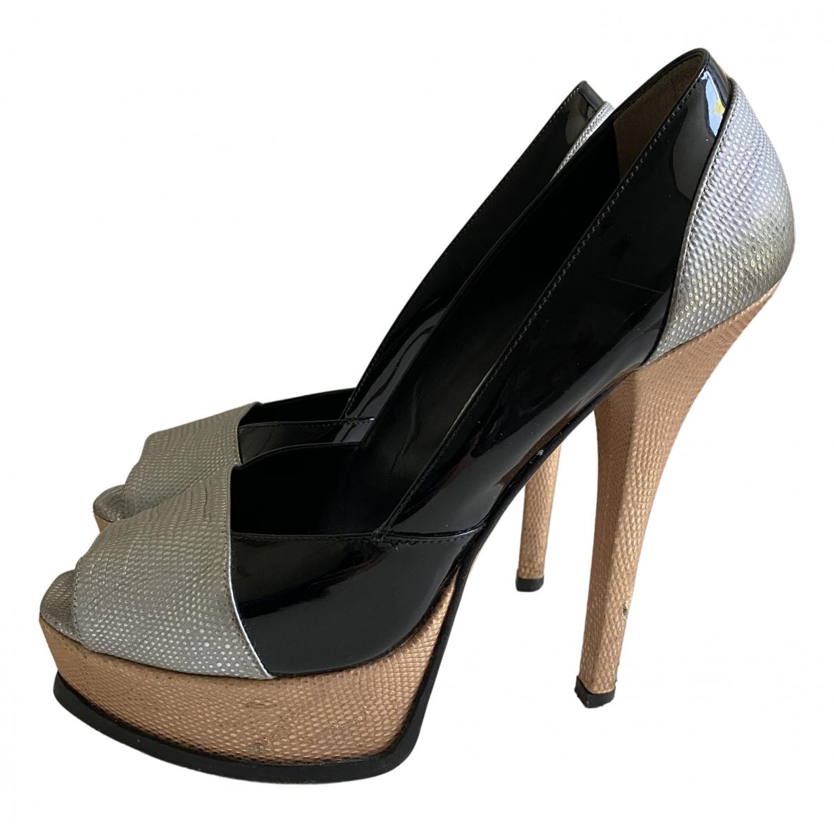 Fendi N Multicolour Leather Heels for Women 41 IT
