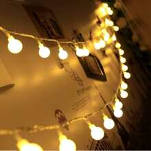20 piezas luz de cuerda con bombilla