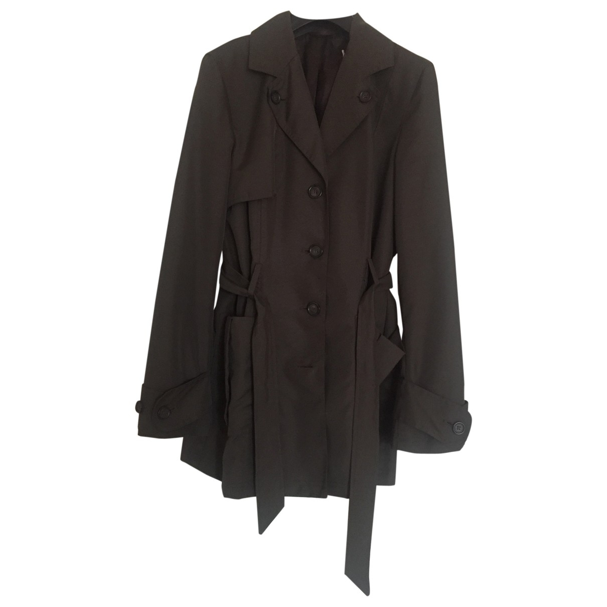 Non Signé / Unsigned \N Brown Trench coat for Women 40 IT