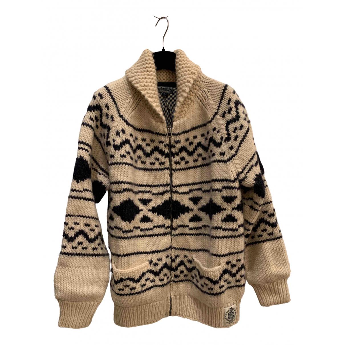 - Vestes.Blousons   pour homme en laine - ecru