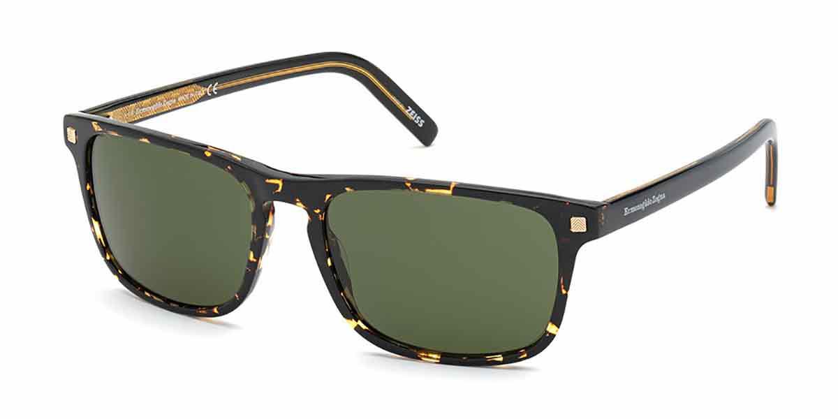 Ermenegildo Zegna EZ0173 52N Men's Sunglasses Tortoise Size 58