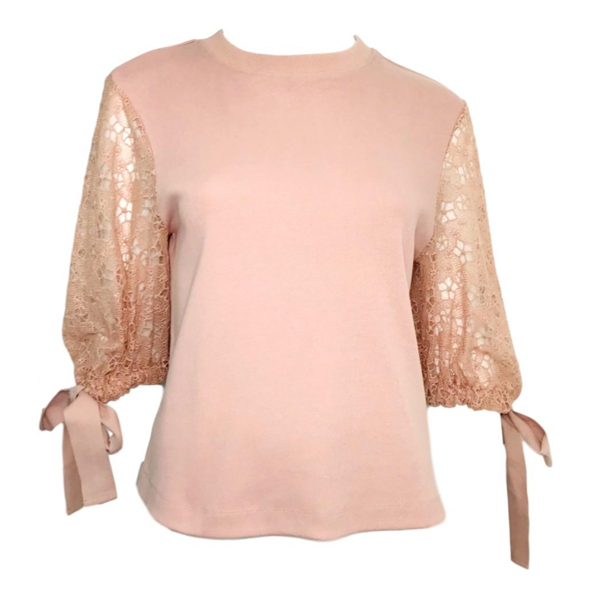 See By Chloé \N Pink Cotton  top for Women S