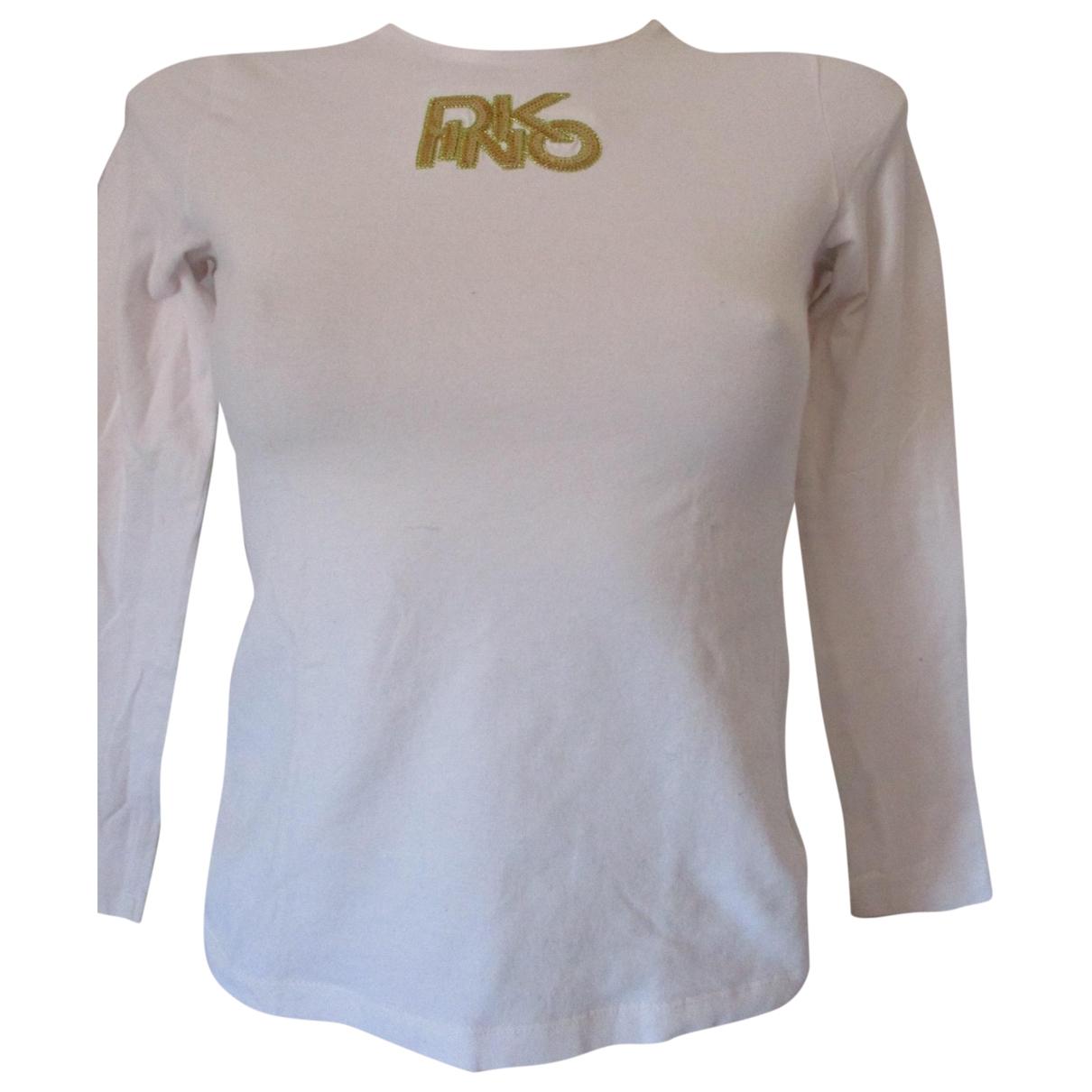 Pinko \N White Cotton  top for Women S International