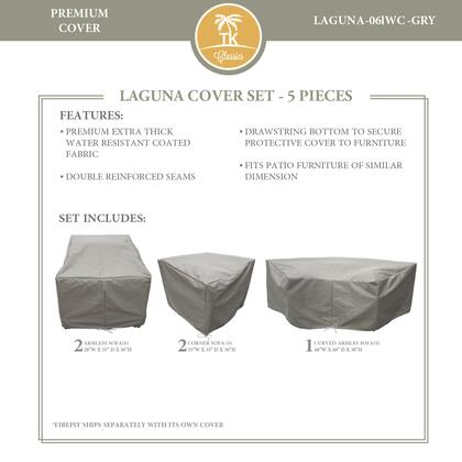 LAGUNA-06lWC-GRY Protective Cover Set  for LAGUNA-06l in