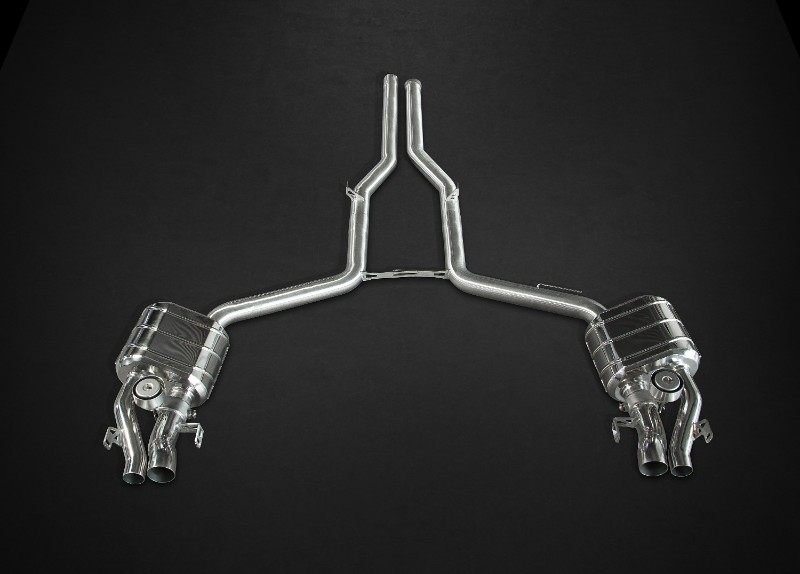 Capristo Exhaust 02MB02403004 Valved Exhaust System w/Remote Mercedes E63 AMG T Wagon (S212) 4matic S 11-16 | Mercedes E63 AMG T Wagon (S212) 2WD 11-1