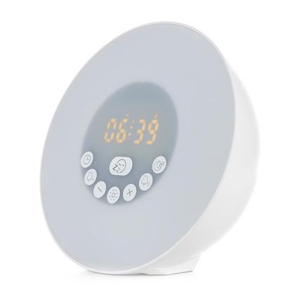 Réveillez-vous avec le simulateur de lever de soleil, couleurs vives, commande tactile, Bluetooth