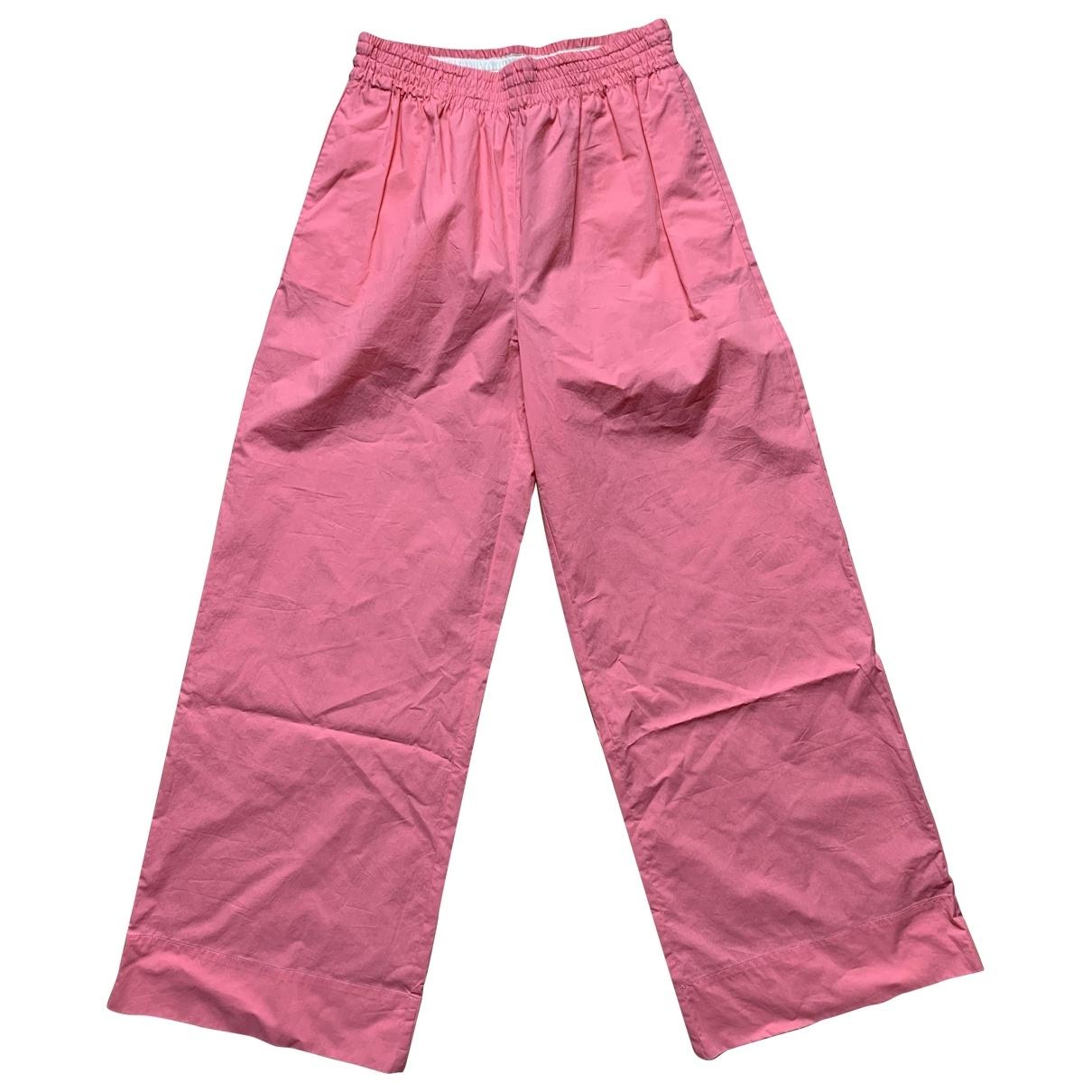 Jucca - Pantalon   pour femme en coton - rose