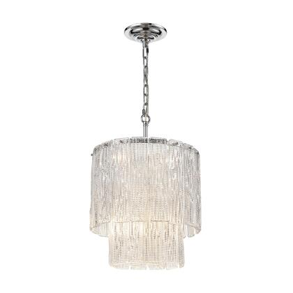 D4301 Diplomat 8-Light Pendant  In Chrome -