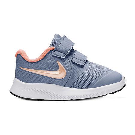 Nike Star Runner 2 Toddler Girls Running Shoes, 6 Medium, Purple