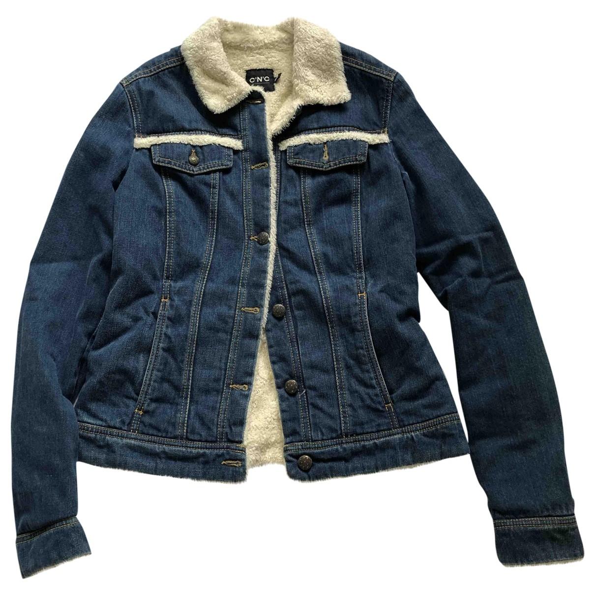 Cnc \N Jacke in  Blau Denim - Jeans