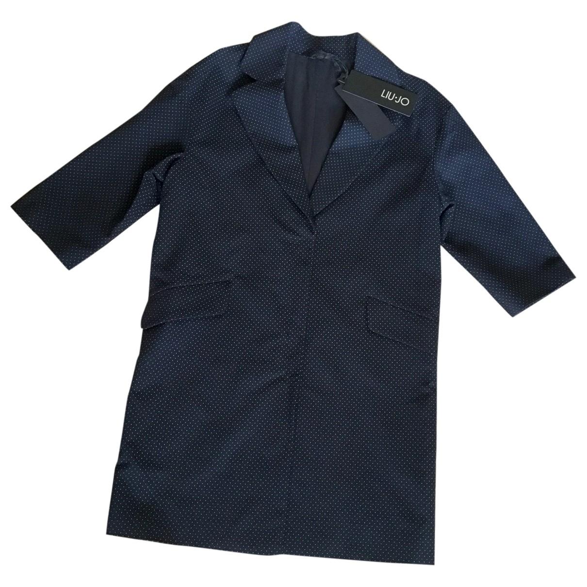 Liu.jo \N Black Cotton coat for Women 40 IT