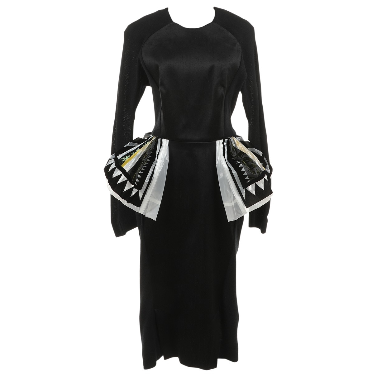 Toga Archives N Black Wool dress for Women 1 0-5