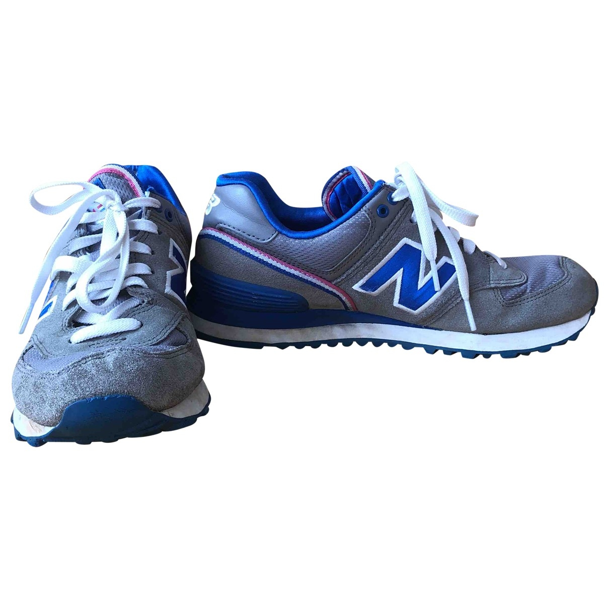 New Balance \N Grey Suede Trainers for Women 39 EU