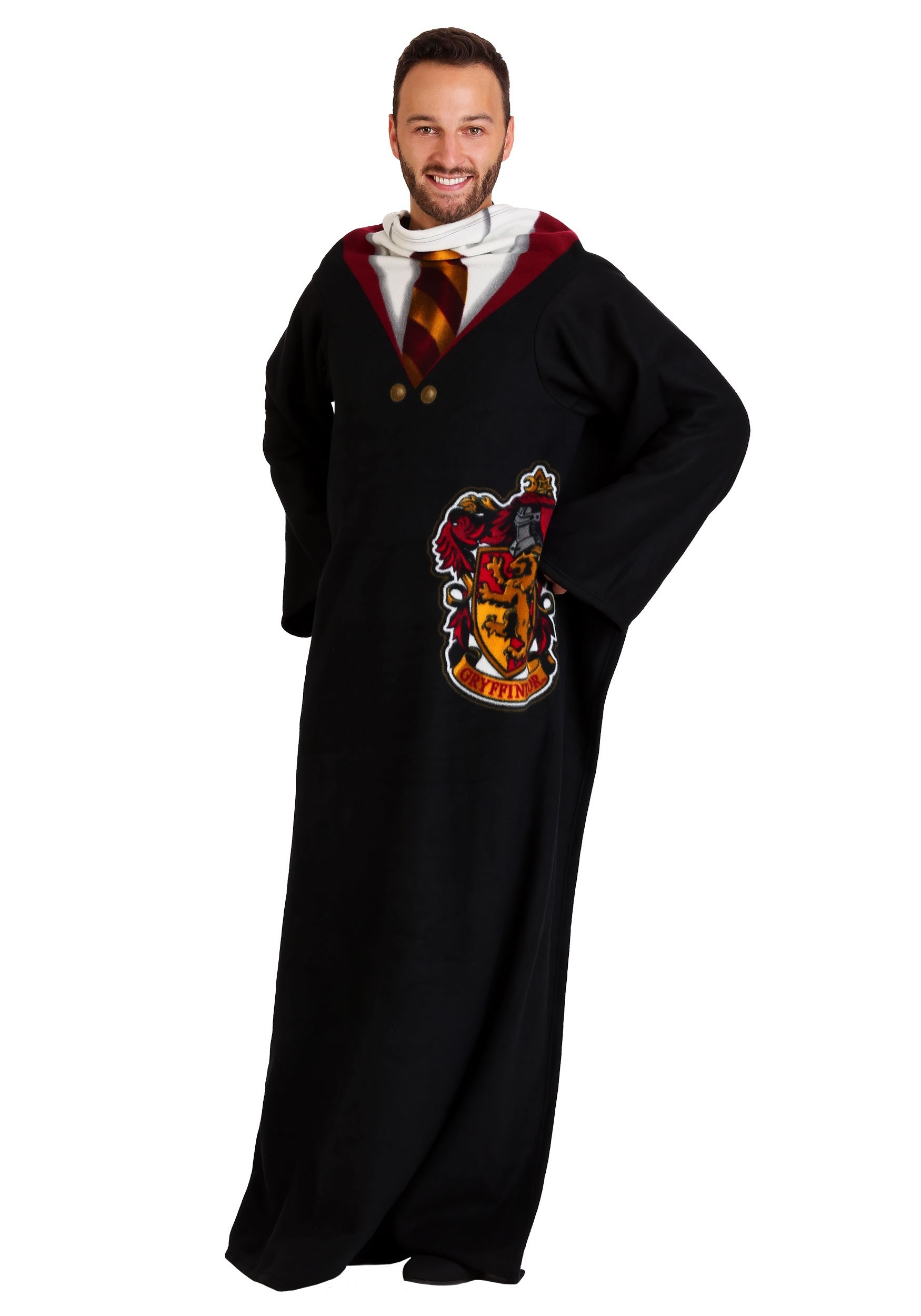 Adult Comfy Throw Harry Potter Gryffindor Robe