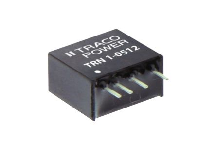 TRACOPOWER TRN 3 3W Isolated DC-DC Converter Through Hole, Voltage in 18 → 36 V dc, Voltage out 15V dc