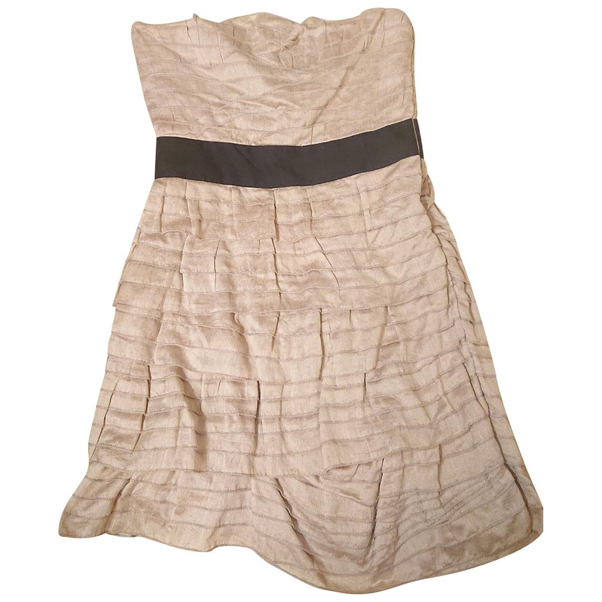 Reiss \N Kleid in  Rosa Baumwolle