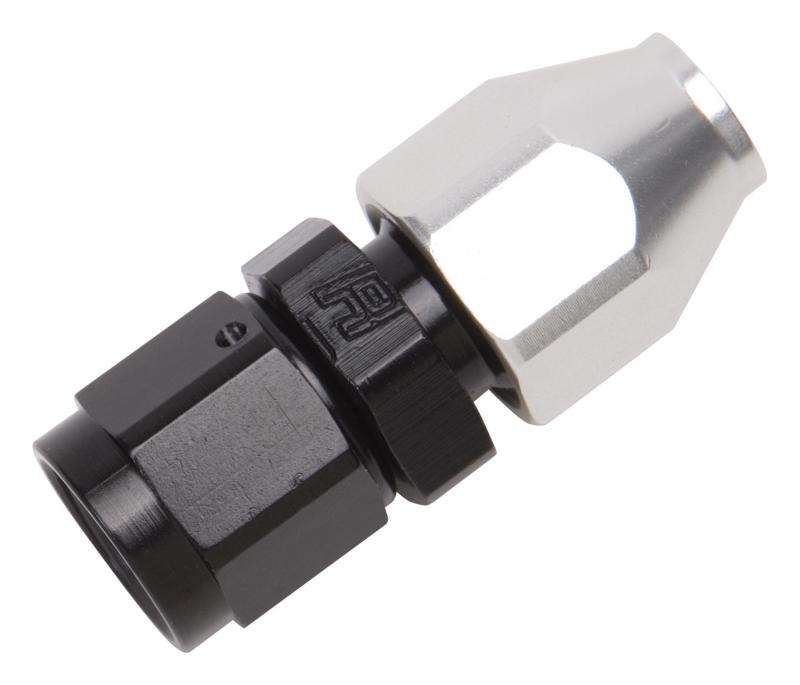 Russell HOSE ADAPTER-8 AN FEMALE SWIVEL TO 1/2in. TUBE CLR/BLK FINISH