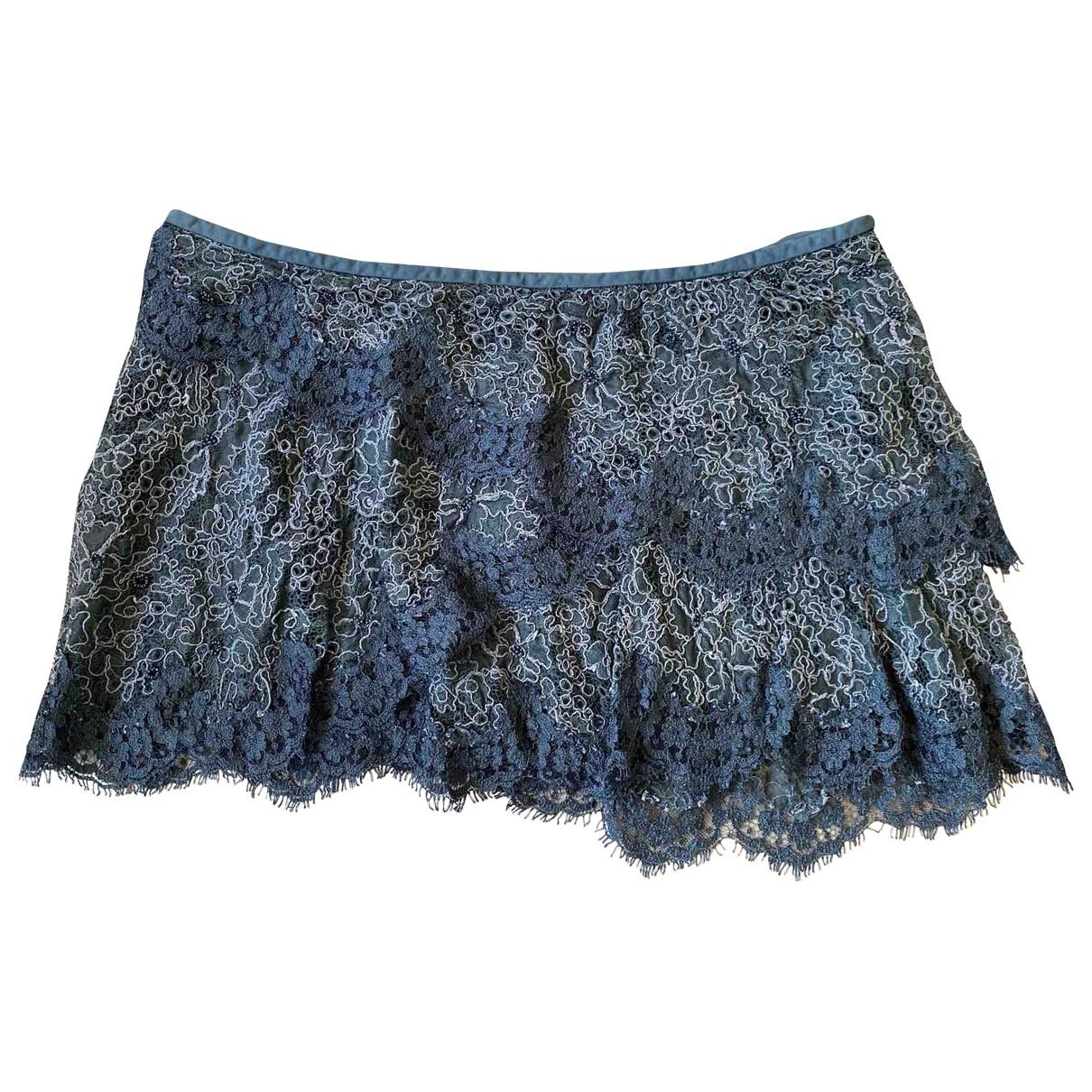 Isabel Marant \N Grey Cotton skirt for Women 42 FR