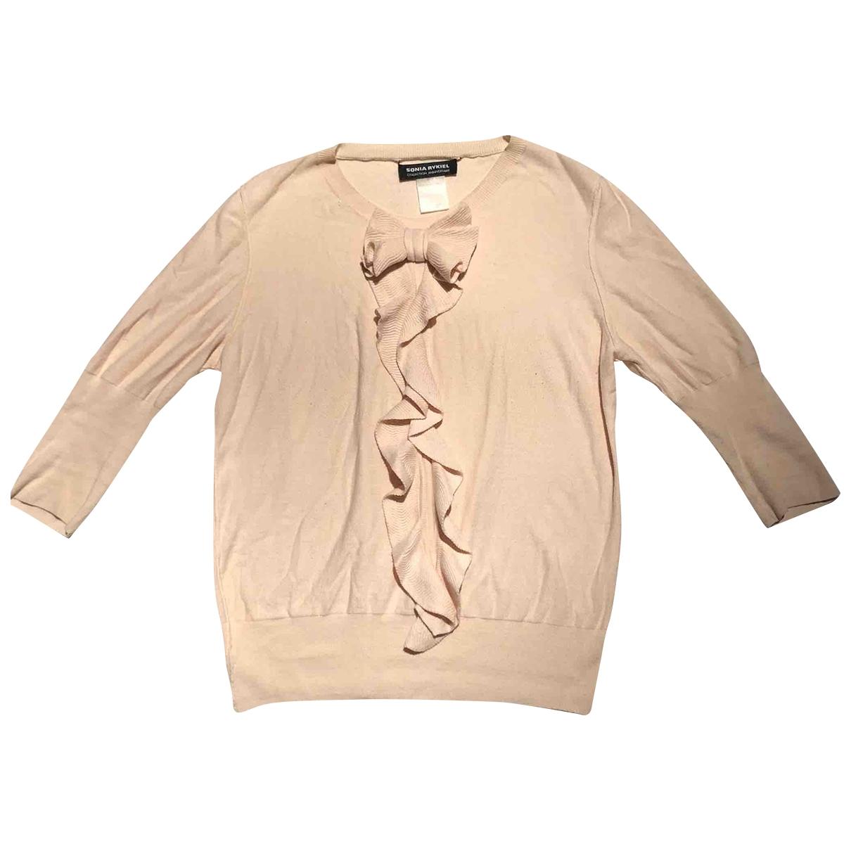 Sonia Rykiel - Pull   pour femme en coton - rose