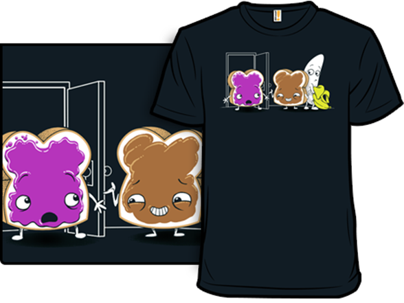 Peanut Butter And Jealousy T Shirt