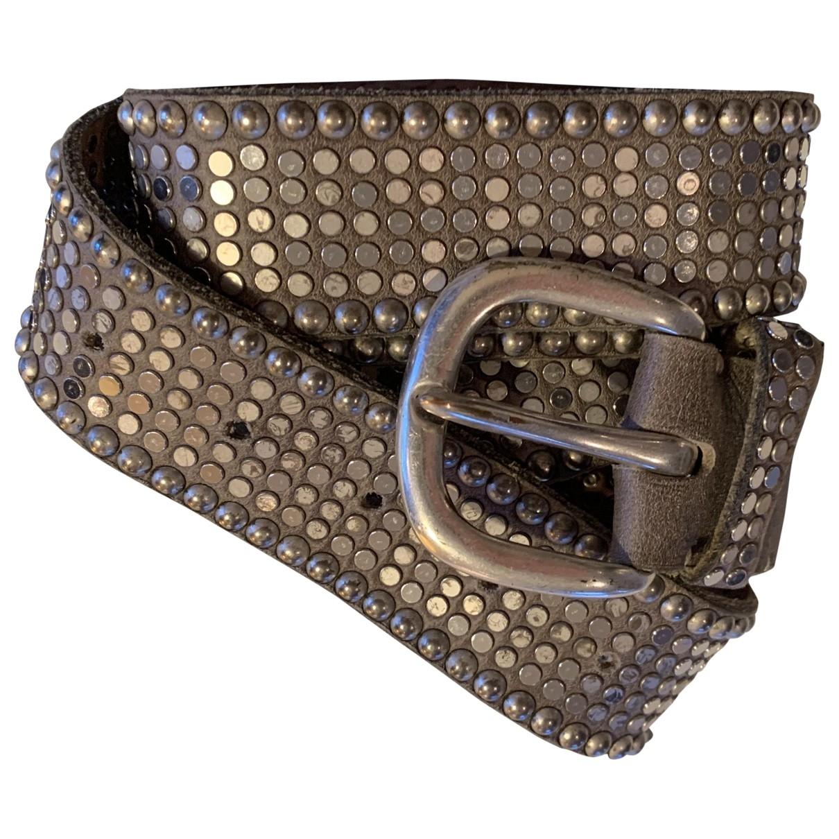 Cinturon Hippie Chic de Cuero Non Signe / Unsigned